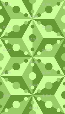 07375535 : SC3C spotty : lime green
