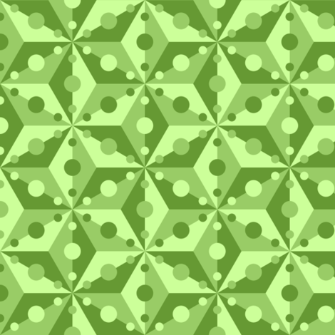 07375535 : SC3C spotty : lime green fabric by sef on Spoonflower - custom fabric