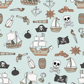 pirate coordinate pirate quilt fabric nursery