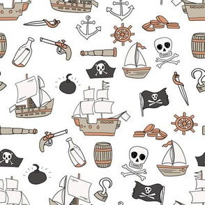 pirate coordinate pirate quilt fabric nursery
