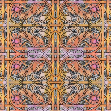 Rusty Garden Gate fabric by edsel2084 on Spoonflower - custom fabric