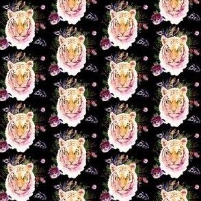 "1.5"" Boho Lilac Tiger - Black"