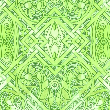 Celtic Spring Mornings fabric by edsel2084 on Spoonflower - custom fabric
