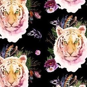 "4"" Boho Lilac Tiger - Black"