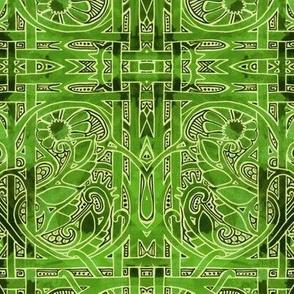 Green Shadow Weave
