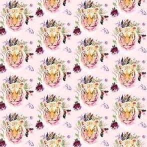"1.5"" Boho Lilac Tiger - Pink"