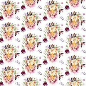 "1.5"" Boho Lilac Tiger - White"