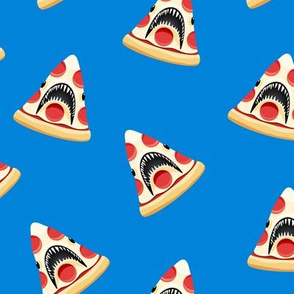 Pizza Shark - 2 blue