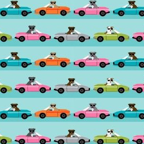 pitbull sports car dog breed fabric pet lover pure breeds
