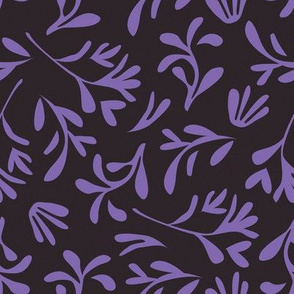 Simple leaf [purple]
