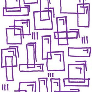 Pugnacious Gelatin Squares Relay Purple