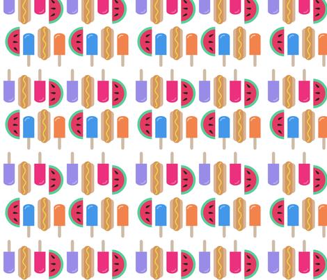 summer fabric by nrenna on Spoonflower - custom fabric