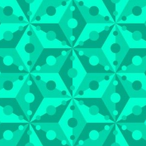 07377714 : SC3C spotty : aquamarine green