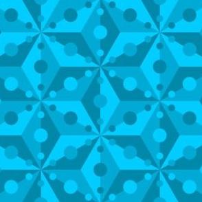 07377716 : SC3C spotty : turquoise