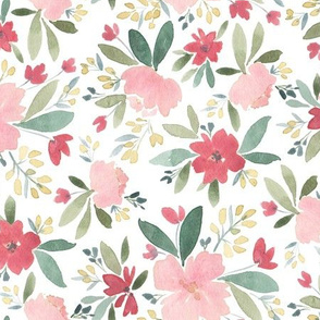 Pretty Pink Floral