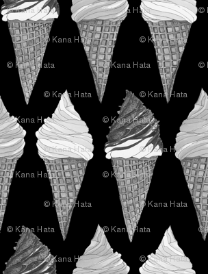 icecream monochrome