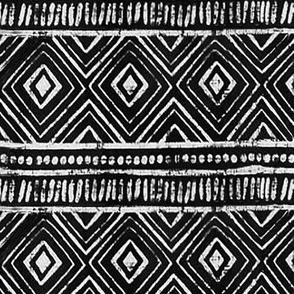 Black Mud Cloth // Large