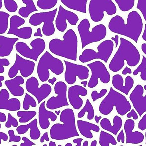 Crowded Hearts - Relay Purple