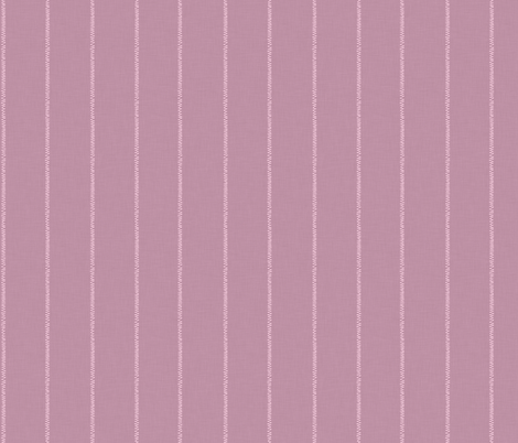 French Pink Linen Stripe fabric by thewellingtonboot on Spoonflower - custom fabric