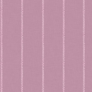 French Pink Linen Stripe