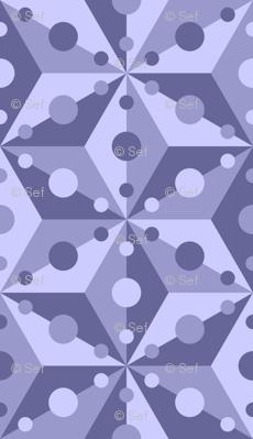 07378915 : SC3C spotty : indigo blue