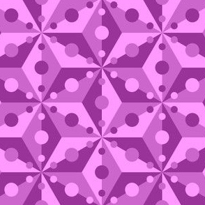 07378942 : SC3C spotty : magenta purple