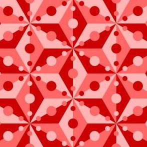07379325 : SC3C spotty : scarlet red