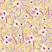 Rwatercolor_flowers_on_butter_yellow_coordinate_to_spring_teepee_by_floweryhat_shop_thumb