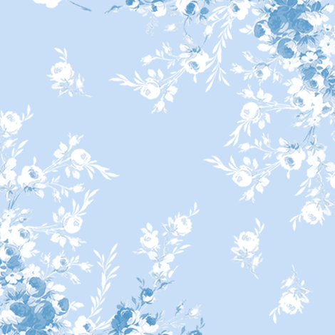 Abigail blueberry fabric by lilyoake on Spoonflower - custom fabric