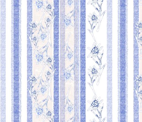 Edelweiss Modern Farmhouse fabric by herbal_things on Spoonflower - custom fabric