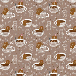Winter Hot Chocolate Bears I