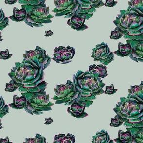 Succulent Pattern Sparce