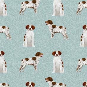 brittany spaniel pet quilt b  dog nursery coordinate