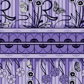 Art Nouveau Monochrome in Lavender