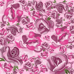 Moody Blooms Mauve