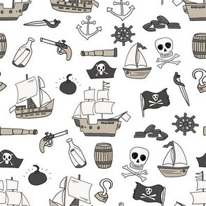 mixed pirates quilt cute coordinate nursery pirate theme