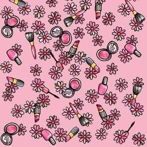 MUA Makeup Artist Floral