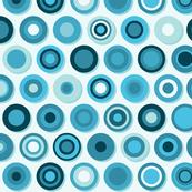 Concentric blues