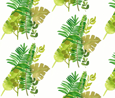 PLANTS fabric by annelise_anne on Spoonflower - custom fabric