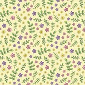Ditsy-meadow-flowers-on-pale-yellow-150-3p5-inch-block-hazel-fisher-creations_shop_thumb