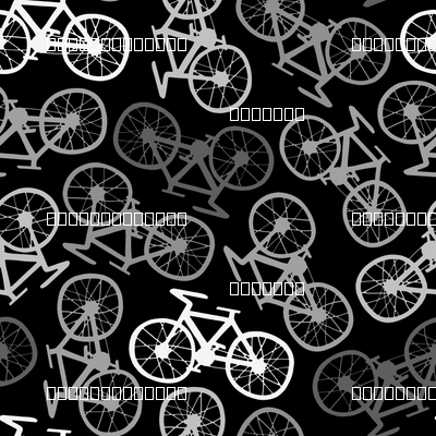 Cycling in Monochrome