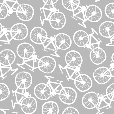 Bicycles in Grey