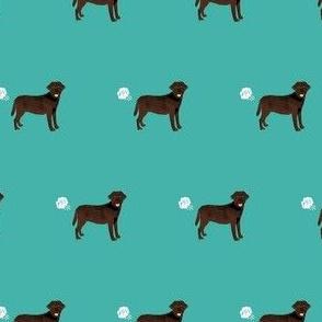 chocolate lab funny dog fart dog breed fabric teal