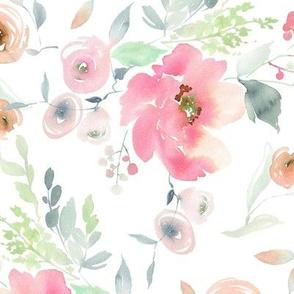 """12"""" Pink Sugar Blooms"""