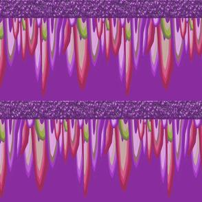 stalactite in purple