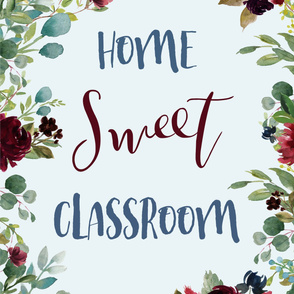 """Home Sweet Classroom 2 yards of any 42"""" wide fabric"""