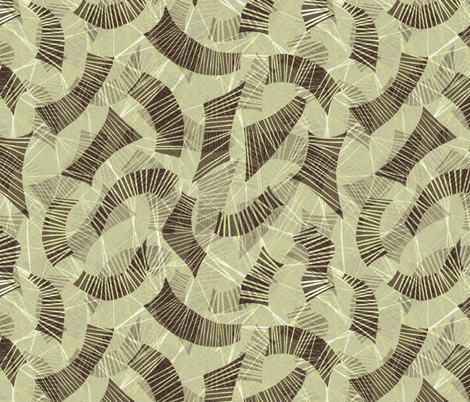 block-chain ledgers taupe fabric by wren_leyland on Spoonflower - custom fabric
