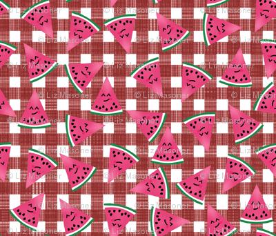 Happy Watermelon Slices