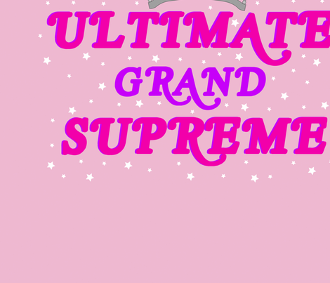 Ultimate Grand Supreme fabric by ladywave on Spoonflower - custom fabric
