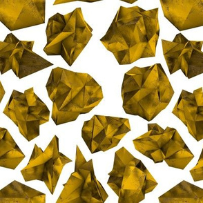 Gold Polygons 8""